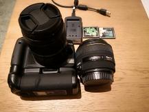 Canon D400 digital Sigma 1,4/30 DC HSM C/AF