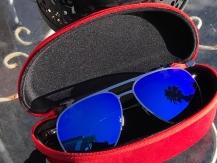 Γυαλιά ηλίου Aviator (2 Ζευγάρια) Μπλε και Ασημί καθρεφτης