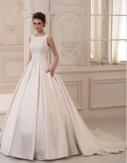 Νυφικό φόρεμα (large) με φουρό Νο 3