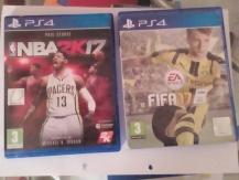 ΠΑΙΧΝΙΔΙΑ ΓΙΑ PS4  FIFA 17 & NBA 2K 2017