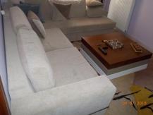 Σαλόνι σετ με γωνιακό καναπέ