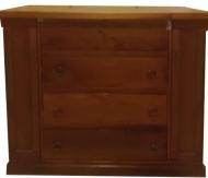 Συρταριερα - γραφείο - τουαλέτα από μασίφ ξύλο κερασιάς